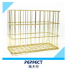 Home towel clothes metal storage basket magazine paper file rack