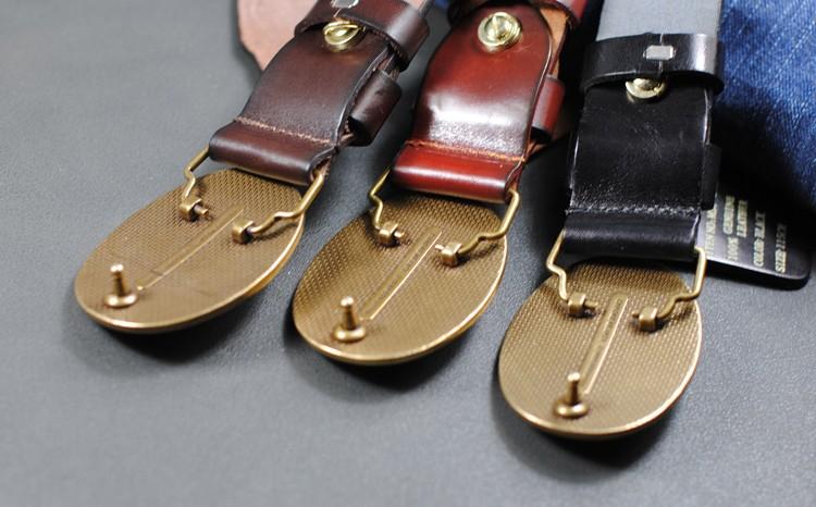 ᑐlgfwb2133 110cm Xl Xxl ≧ Top Top Calf Skin Full 【 Grain Grain Genuine Leather Retro Anchor Men