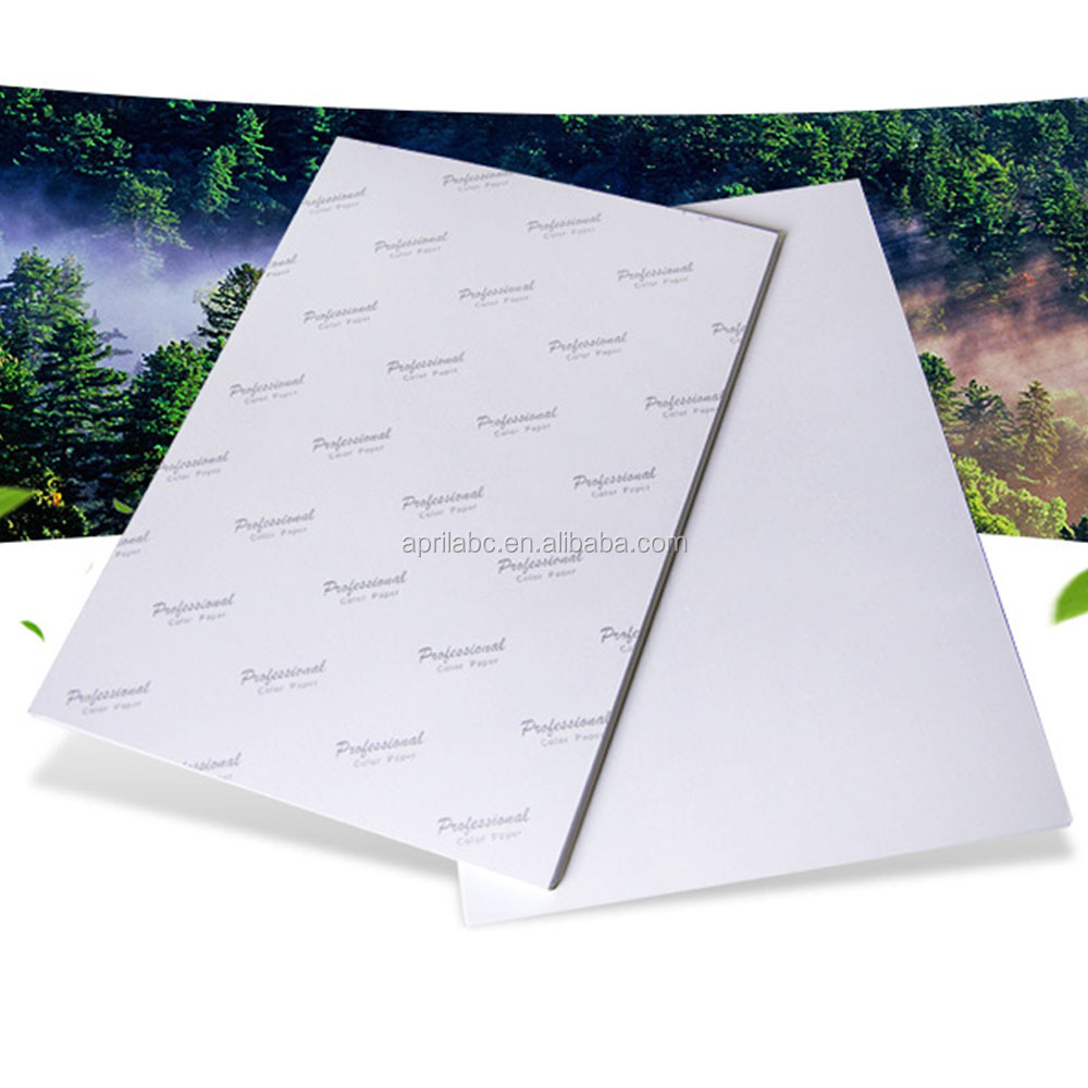 Printable Photo Paper Double Size White 3Size A4 Waterproof Inkjet Glossy Photo Paper