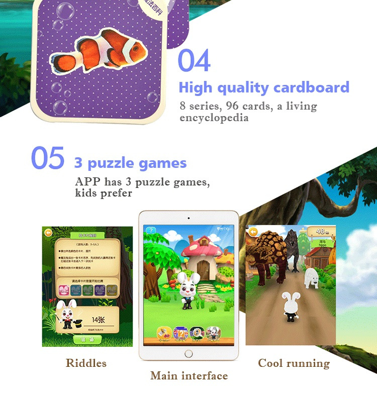 creative kids learning charts altered reality card education toy