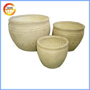 hot sale home round ceramic flower pots for garden decor