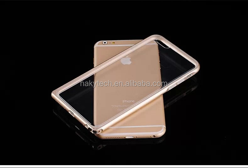 Aluminum Bumper with TPU Inside bumper 2 in 1 Phone Case for iPhone5 5s