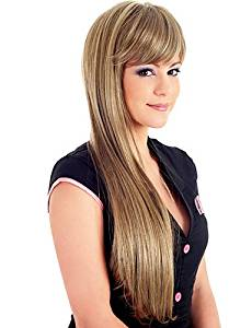 Wigs have an attractive convenience fashion New Fashion Lady Popular High Temperature Silk Long Straight Wigs Can Be Very Hot Can Be Dyed Color Picture