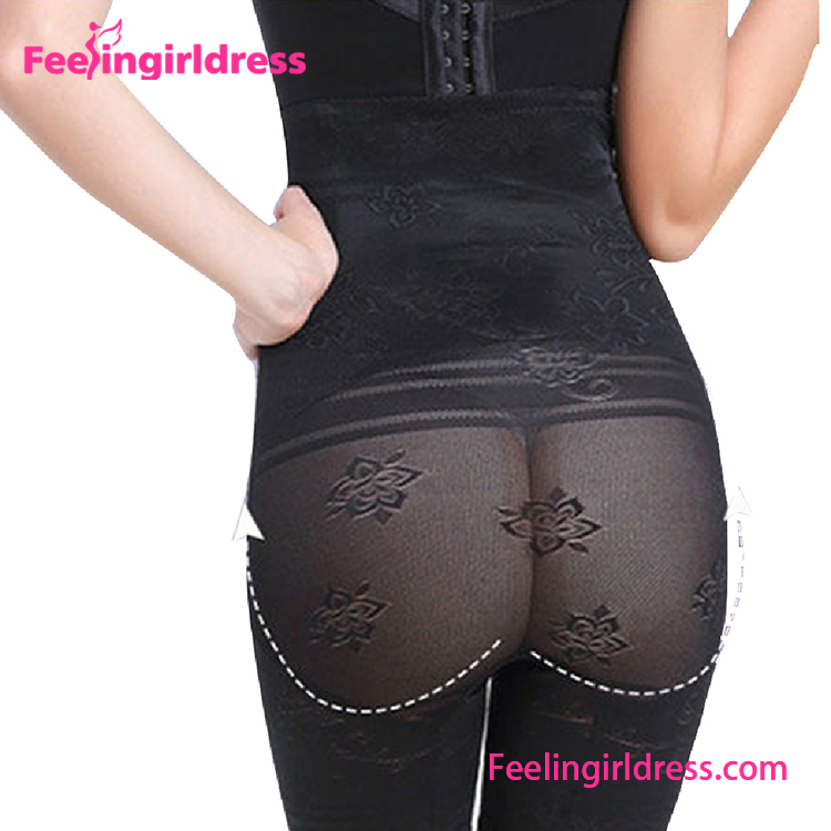 2017 Seamless Black Lace Sexy Butt Lifter Shapewear Slimmer Long Women Butt Lifter