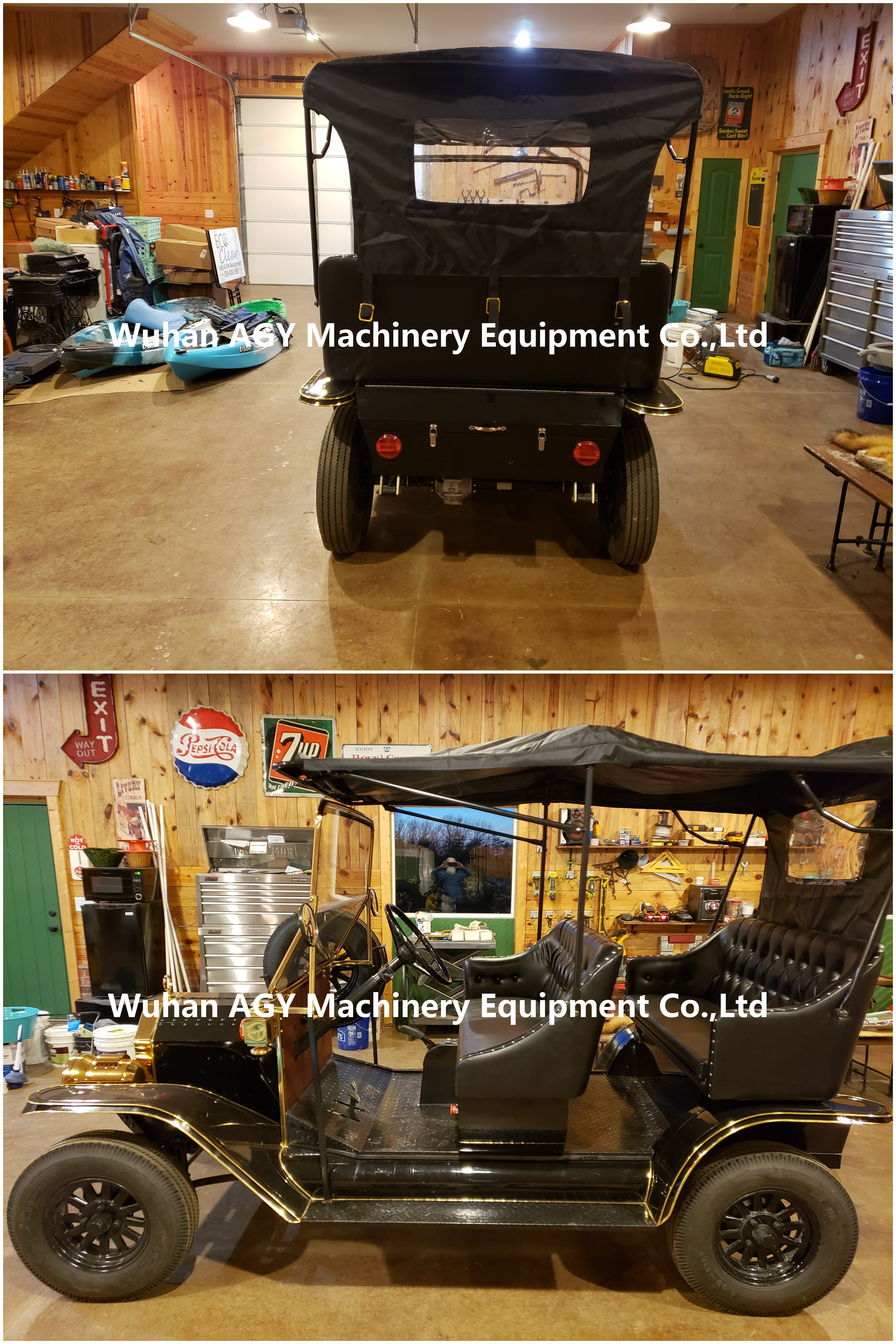 AGY 5KW power luxury retro electric golf cart for sale