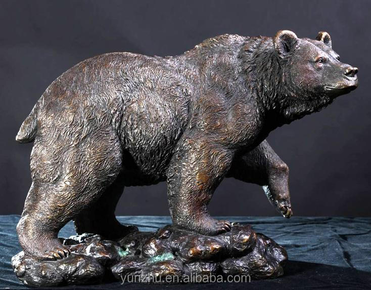 Bronze Bear Statue, Bronze Bear Statue Suppliers And Manufacturers At  Alibaba.com