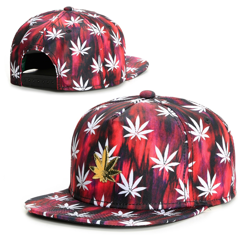 de8f131a844 cheap new fashion cap men 3D weed snapback caps baseball hats for men women  brand sport
