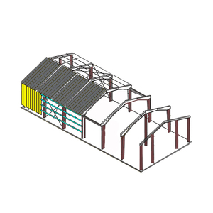 cheap light frame steel building prefab stainless steel structure warehouse