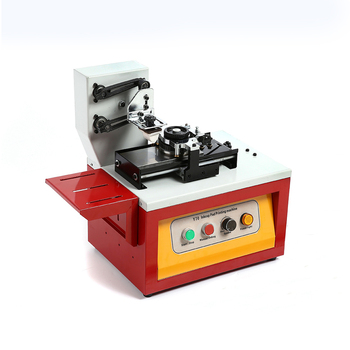 Electric Ink Cup Type Pad Printer Date Coding Printing Machine - Buy Ink  Pad Printing Machine,Electric Pad Printer,Pad Printer Machine Product on