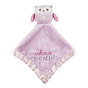 Get Quotations Plush Owl Blankie Pink Stepping Stones By