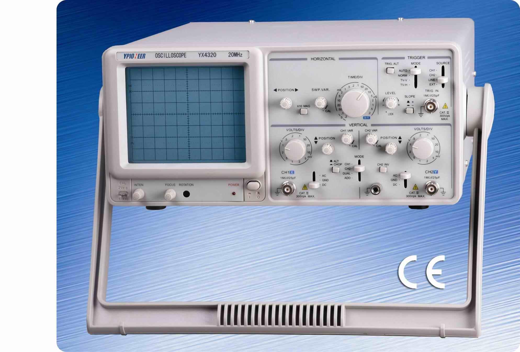 Oscilloscope Tennis For Two : Crt osciloscopio analógico