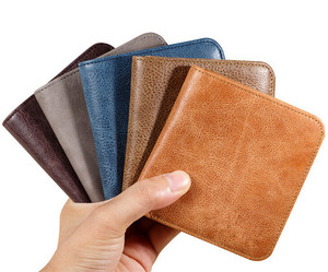Boshiho Unique Gift Ideas vintage mens leather wallet