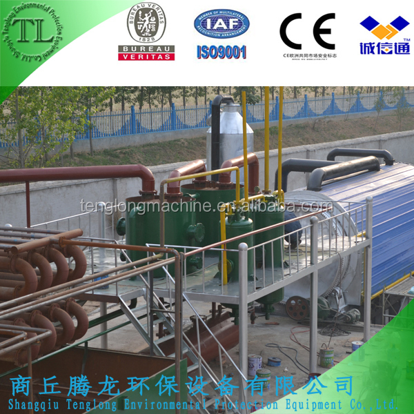 TL multi-function column Vacuum Distillation waste oil recyling Plant for diesel
