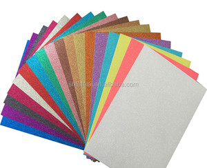 Cardstock card color high quality card stock paper glitter paper