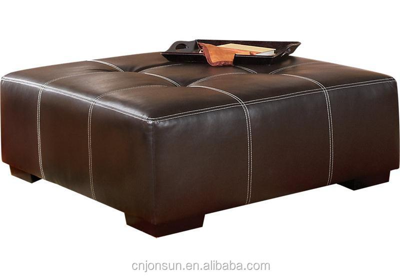 Muebles Para El Hogar Plegable Pvc Cuero Otomana De Almacenamiento ...