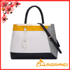 Hot new four color matching ladies pu leather handbags girl's shoulder bag