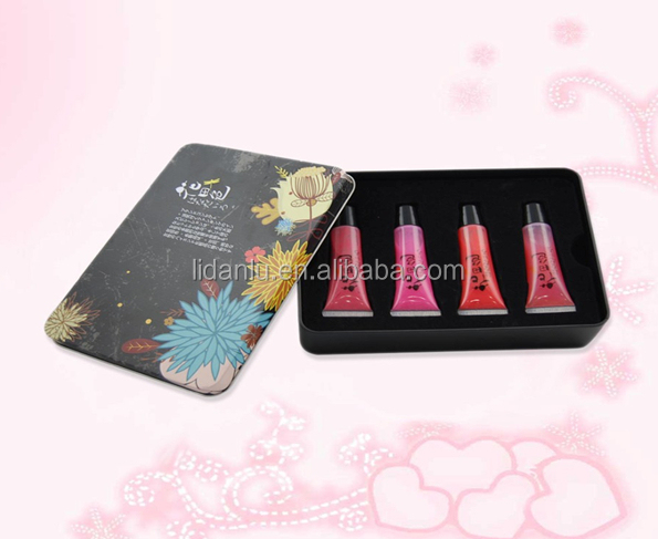 hot China factory wholesale cupcake lip gloss have more color