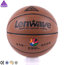 Lenwave brand custom basketball ball Indoor/outdoor leather basketball