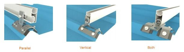 My test Solar Panel Pitched Roof Mounting Brackets