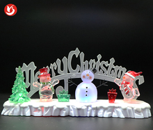 High Quality Wholesale Custom Cheap merry christmas lighted indoor snowman led for sale