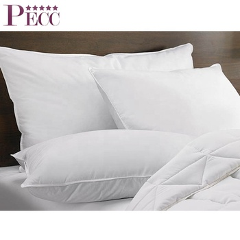 China Supplier 5 Star Hotel Wholesale Custom Real Feather Pillow Inserts