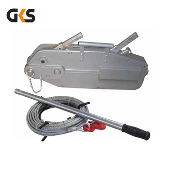 Hand Winch Hand Operated Ratchet Cable Puller Manual Wire Rope ...