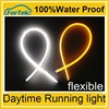 white and Turning yellow light flexible led car light