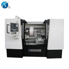 HS-CK6180W Hot Sale wheel rim Repair CNC lathe machine with Diamond cutting