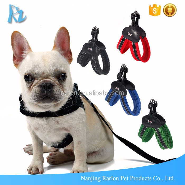 Breathable Fabric Mesh Vest Dog Harness For Medium Large Dogs