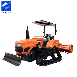 Cheap agricultural crawler tractor with rubber crawler