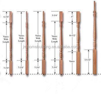 Bon Wood Spindle For Staircase/indoor Staircase