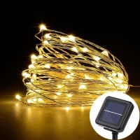 Amir Noma Solar Powered Micro LED String Lights
