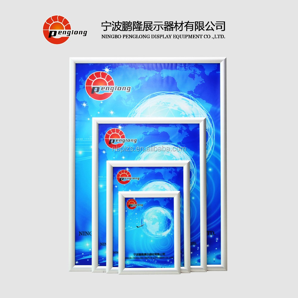 High Quality Snap Clip Poster Frame Anodised Aluminum
