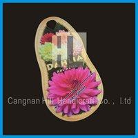 Eco-friendly plastic hanging plant / flower labels for nursury