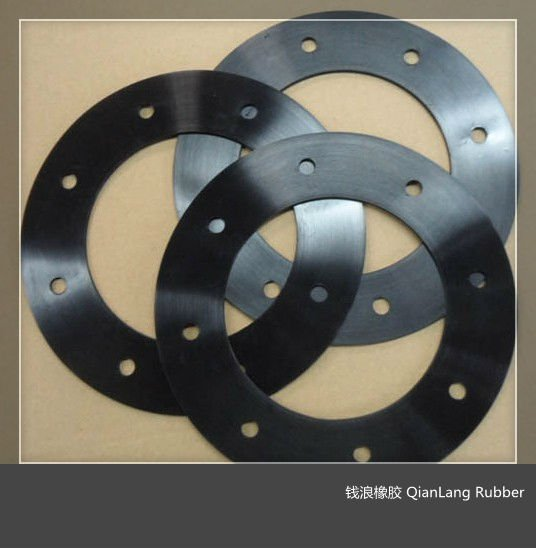 Custom make Round EPDM Rubber Flange Gasket