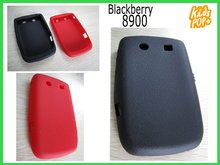 New silicone skin case cover for blackberry 8900 Crack