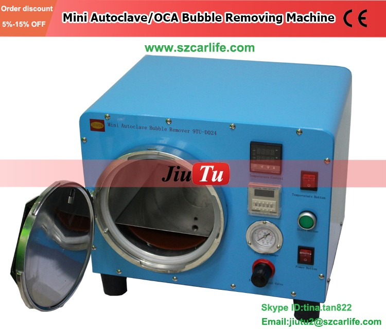 For Mobile Repair LCD Screen Mini Automatic LCD Bubble Removing Machine LCD Air Bubble Remover Air Bubble Remove machine