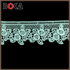 super quality of elegance Water Soluble Cotton 7CM Green, Off White, Black Bridal Lace Trim Wholesale for pets
