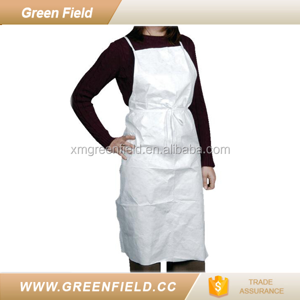disposable waterproof tyvek paper apron