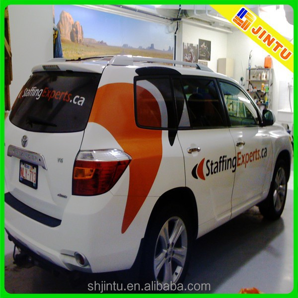 Custom Pvc Car/bus Stickers,Car Body Wrap Advertising