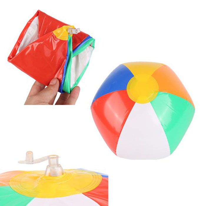 Unionpromo Colorful 0.18mm Inflable ball PVC Custom Beach Balls