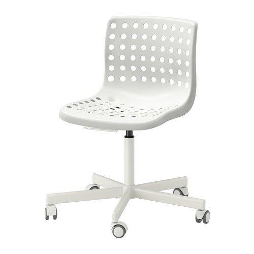 Great Ikea SKLBERG / SPORREN Swivel Chair, White 14202.81120.610
