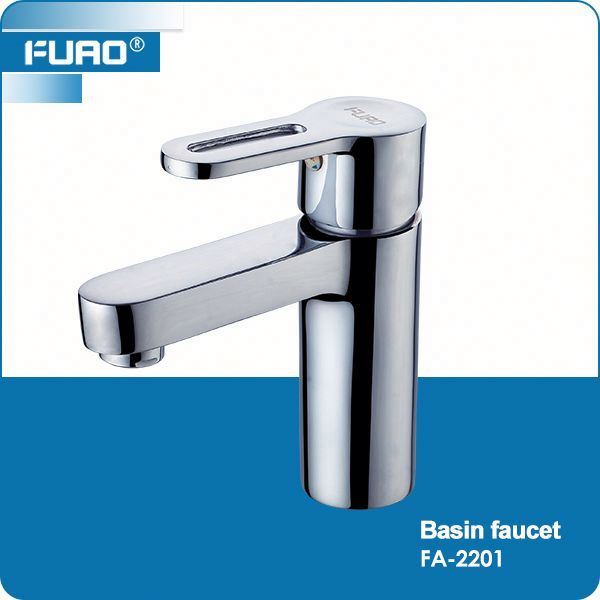 FUAO Fashion high quality stainless low pressure basin taps