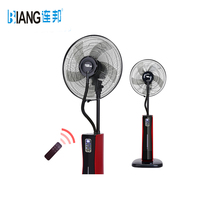 r134a portable rechargeable standing water spray air cooler mist solar fans with aroma and mosquito repeller