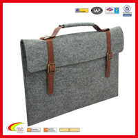 Factory wholesale felt case feel sleeves for mackbook tablet