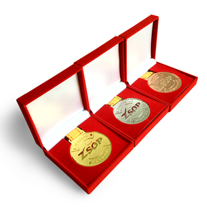 custom grappling championship sports gold medals boxing medal with medal box