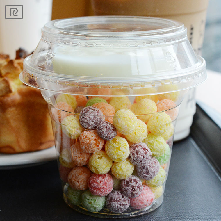 T-BC96-P 2015 hot sale new product dessert cookie cereal yogurt fruit vege salad disposable biodegradable plastic cup with lid