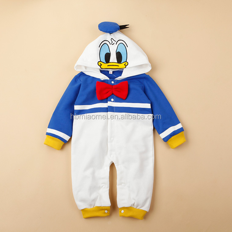 Christmas cartoon baby climbing clothes long sleeve cotton baby romper costume romper baby clothes