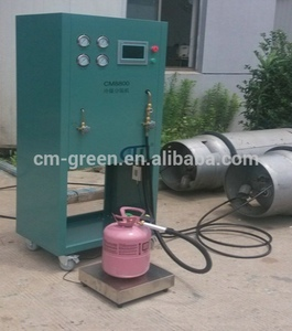 R22/R40A/R134A Refrigerant Reclaiming equipment CM8800 Industrial  Refrigerant Recovery/vacuum Unit with high performance