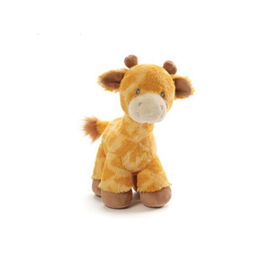 Wholesale cheap custom cute stuffed giraffe plush bear toys